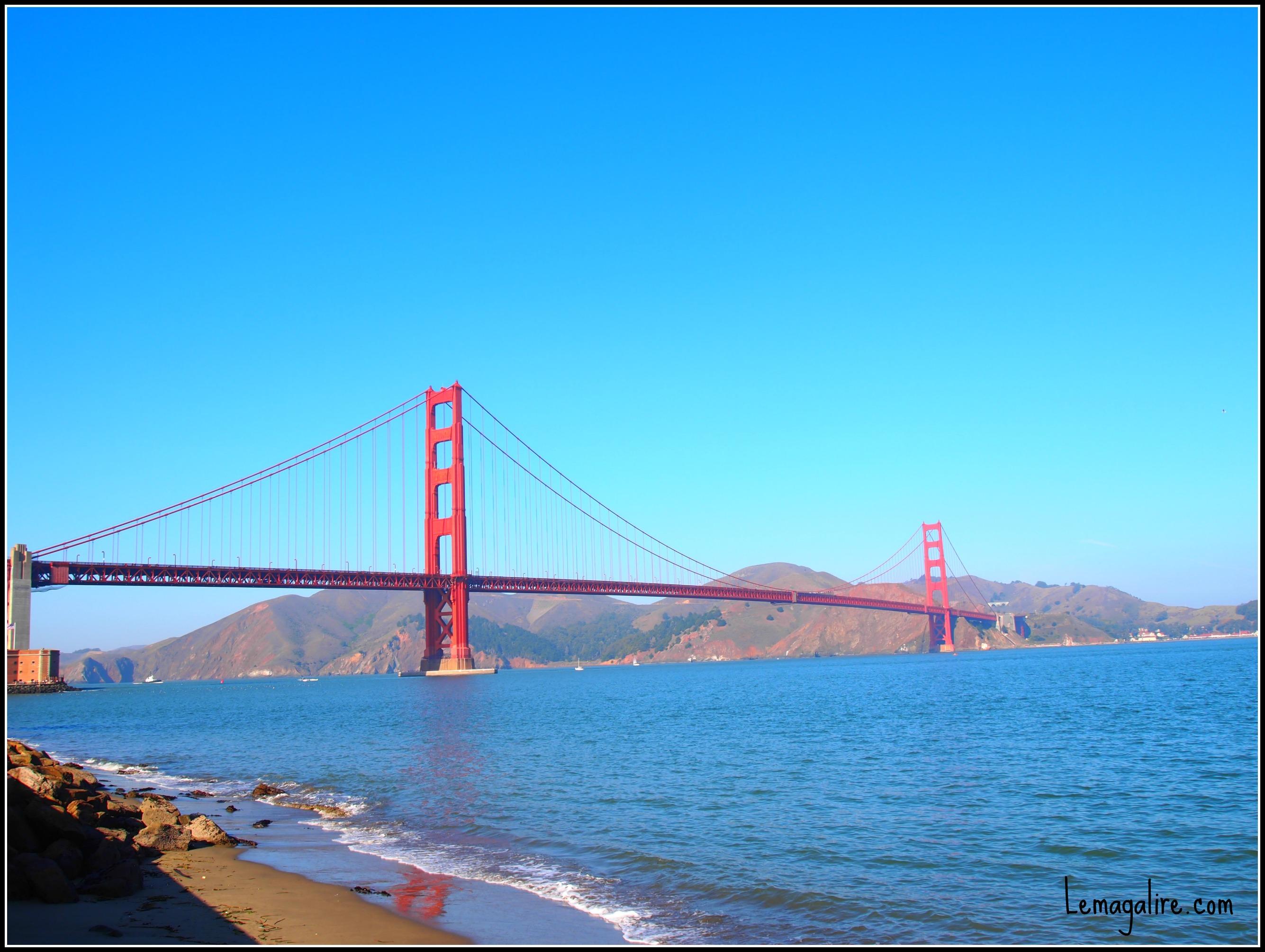 Golden Gate San Francisco blog lifestyle marseille