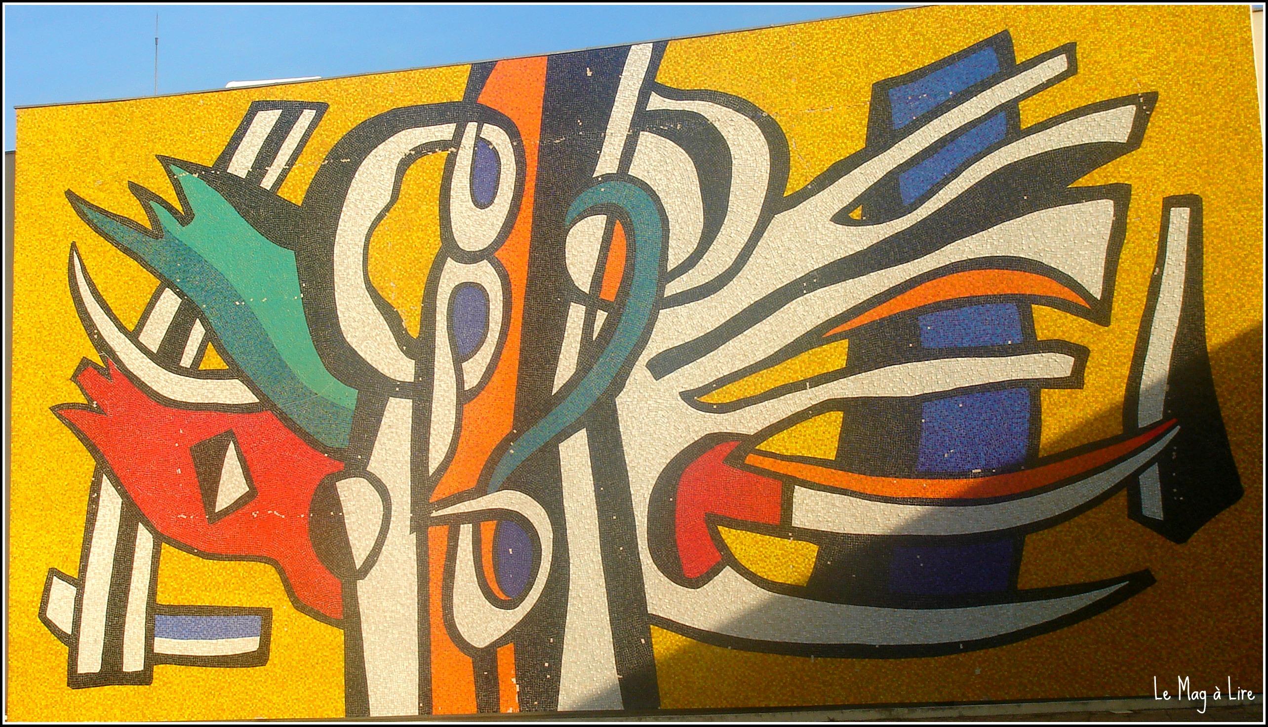 Musée Fernand Léger blog lifestyle Marseille